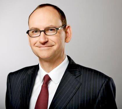 """Daniel Stelter, Strategievordenker der Boston Consulting Group und zuständiger Partner der Analyse """"Industrie 2015"""" für manager magazin"""