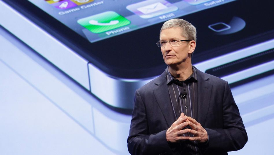 Hohe Hürde: Apple-Chef Tim Cook