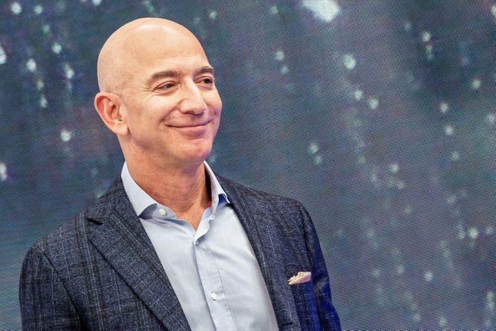 Mal wieder zufrieden: Amazon-CEO und -Gründer Jeff Bezos
