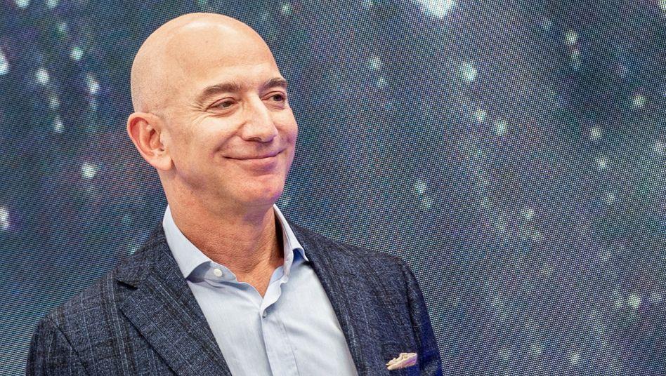 """""""Ein weiteres hochgradig außergewöhnliches Quartal"""": Amazon-Gründer Jeff Bezos"""