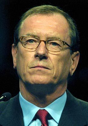 Jürgen Schrempp - der Vorstandschef bleibt für das laufende Jahr vorsichtig.
