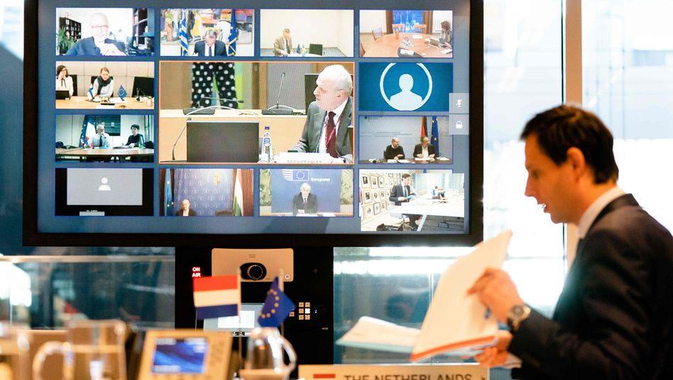 EU-Finanzminister beraten am Donnerstag weiter über ein Rettungspaket für EU-Staaten