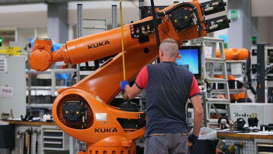 Der Roboterhersteller Kuka war nur eines von vielen Übernahmezielen der Chinesen im Jahr 2016