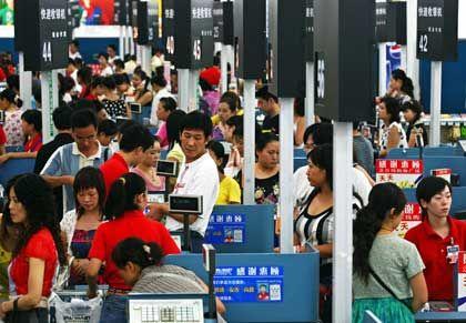 China als Absatzmarkt: Auch in kleineren Millionenstädten wächst eine kaufkräftige Mittelschicht heran