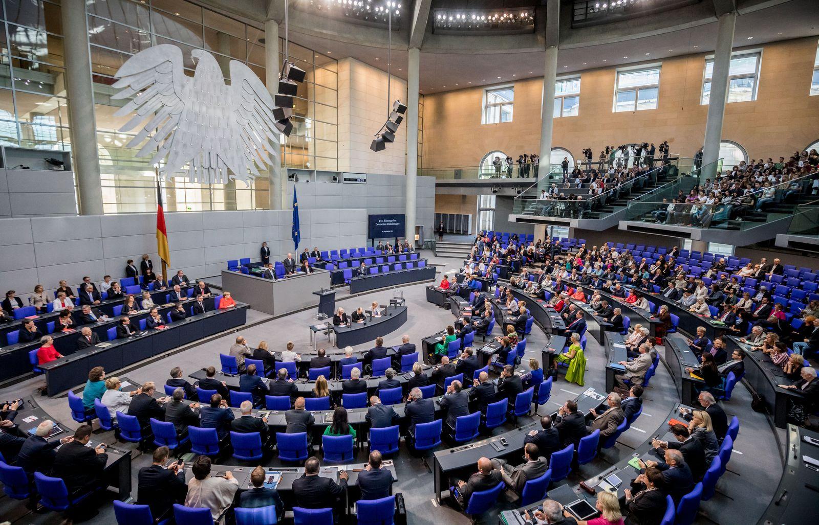 Bundestag - Norbert Lammert