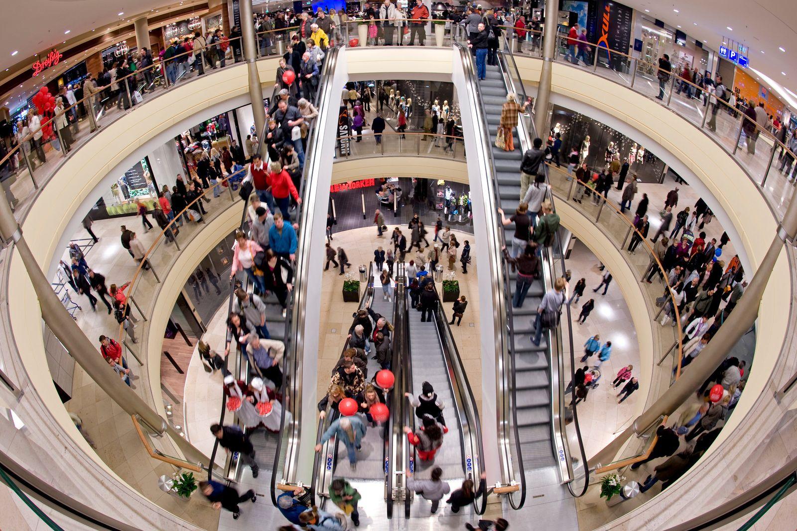 Einkaufszentrum / Konjunktur/Konsum/Verbraucher / Kaufrausch