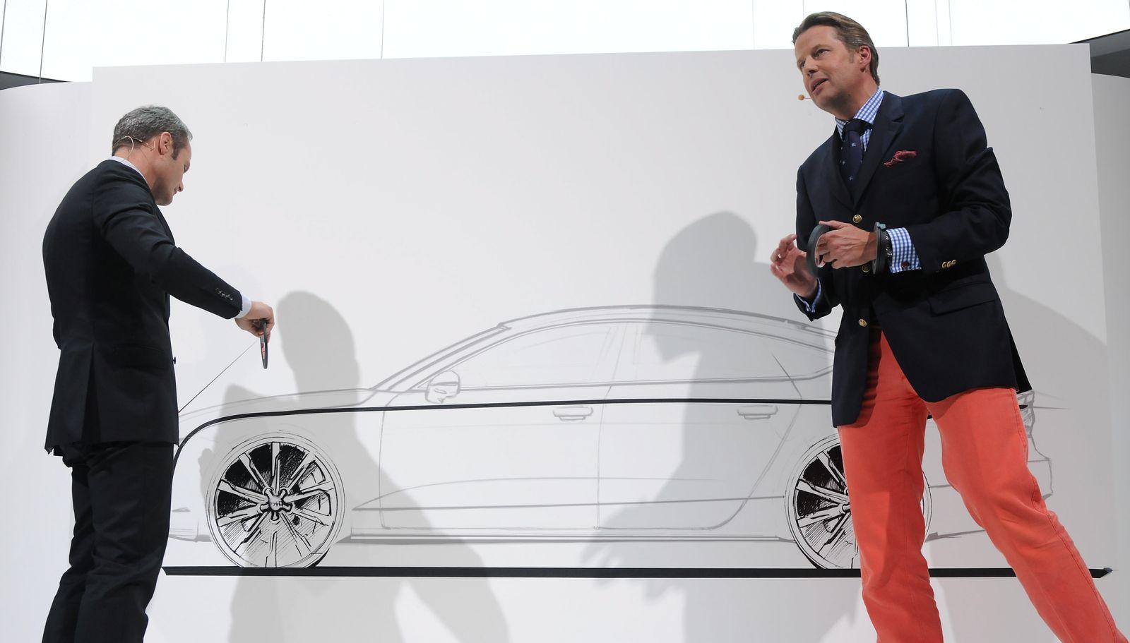 NICHT VERWENDEN Audi Designer / Wolfgang Josef Egger und Stefan Sielaff