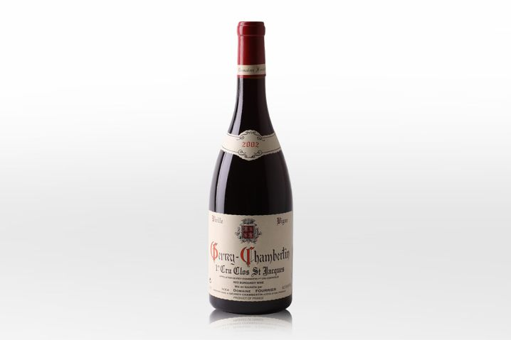 GEVREY-CHAMBERTIN CLOS SAINT-JACQUES 1ER CRU: Domaine Jean-MarieFourrier, Burgund, 2002, 406 Euro