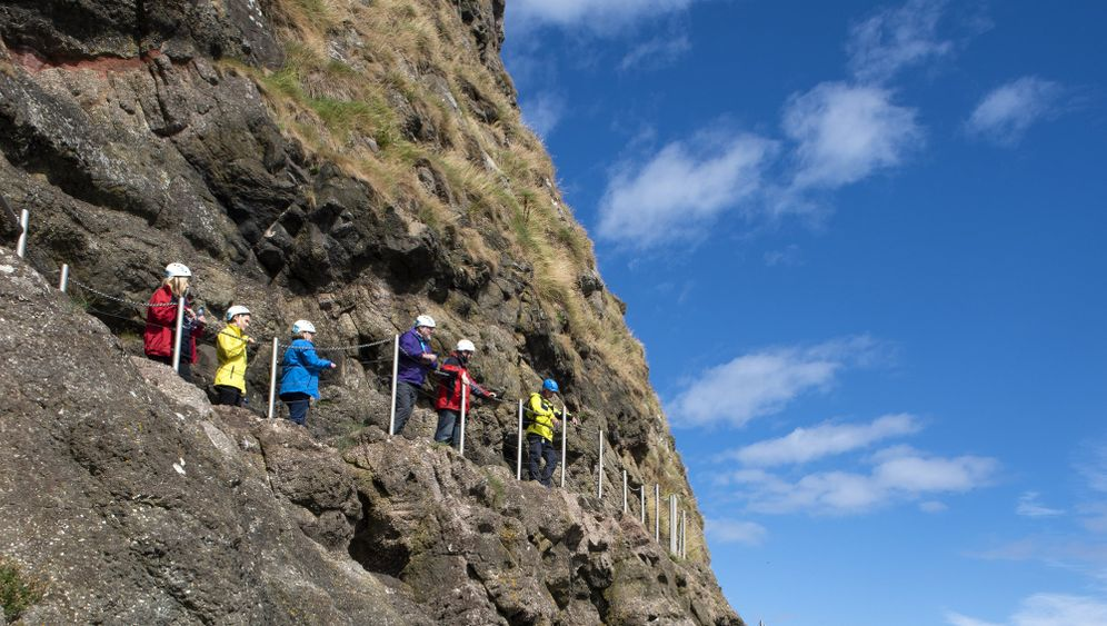 Klippenpfad The Gobbins: Wandern für Fortgeschrittene