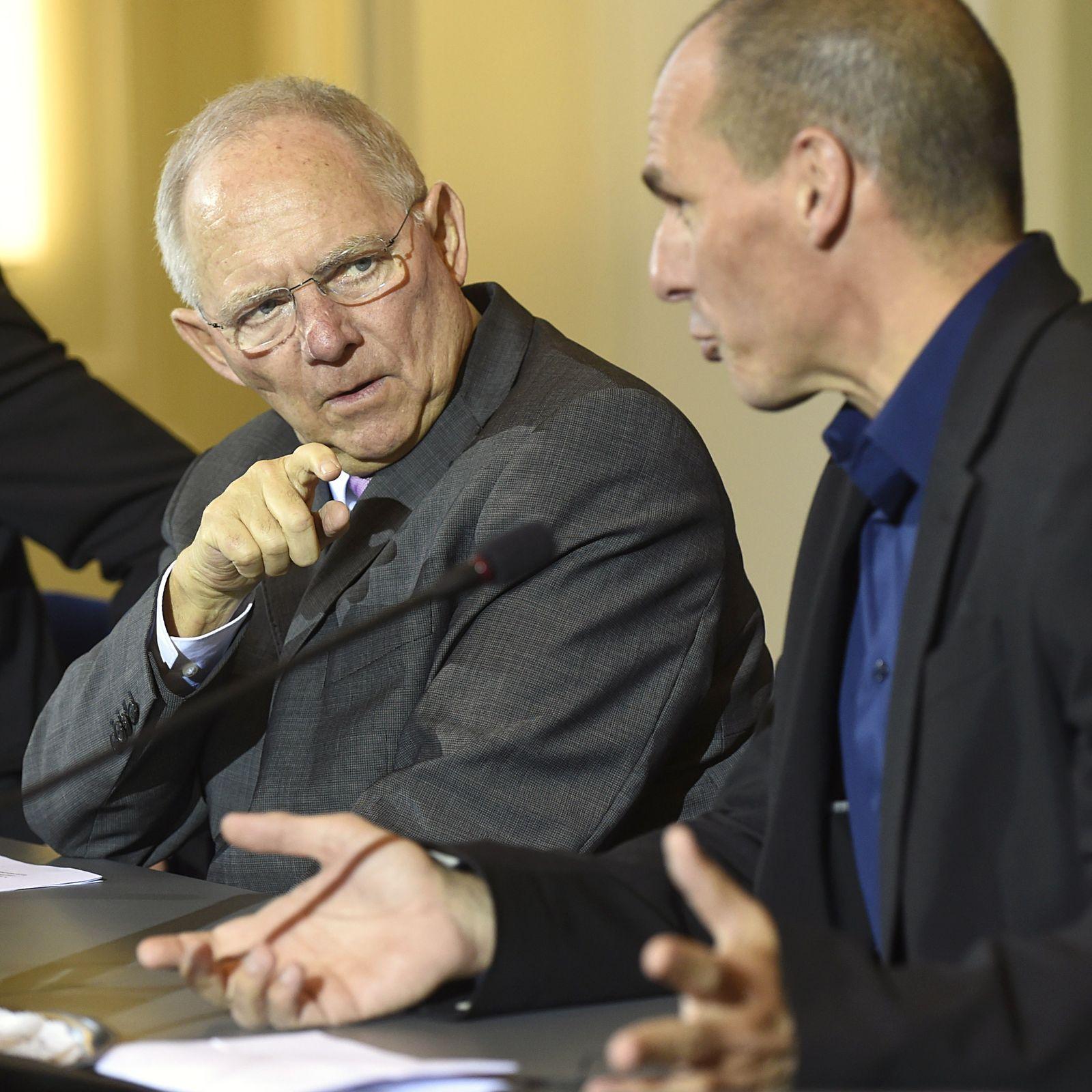Schäuble Varoufakis