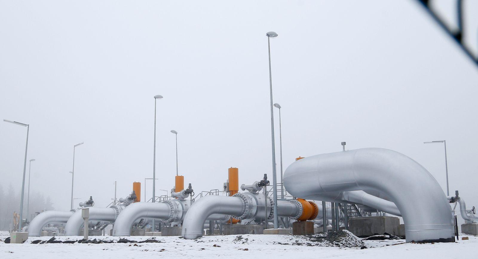 Tschechien / Erdgas / Pipeline / Gaspipeline