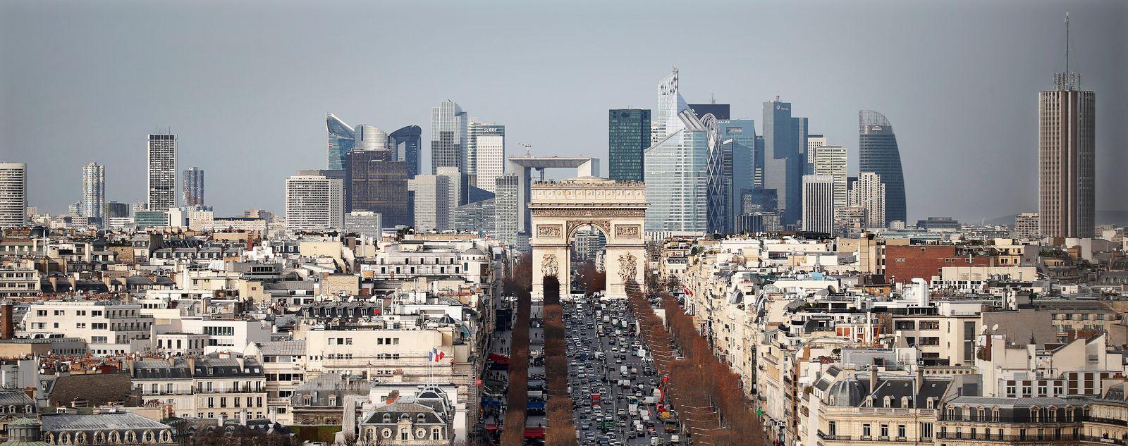 Frankreich / Paris / Banken / Bankenviertel / Konjunktur