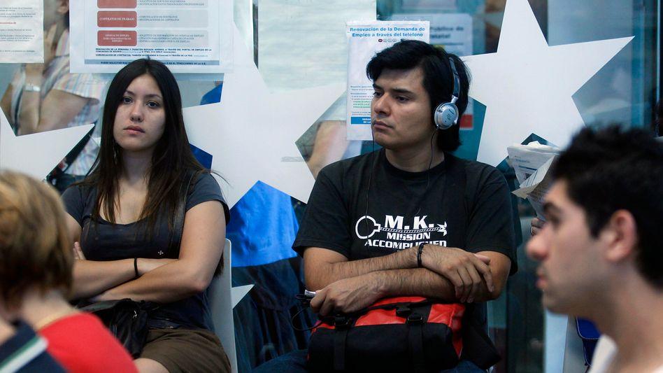 Jobsucher in Madrid: Vermehrt Auswanderung als letzter Ausweg