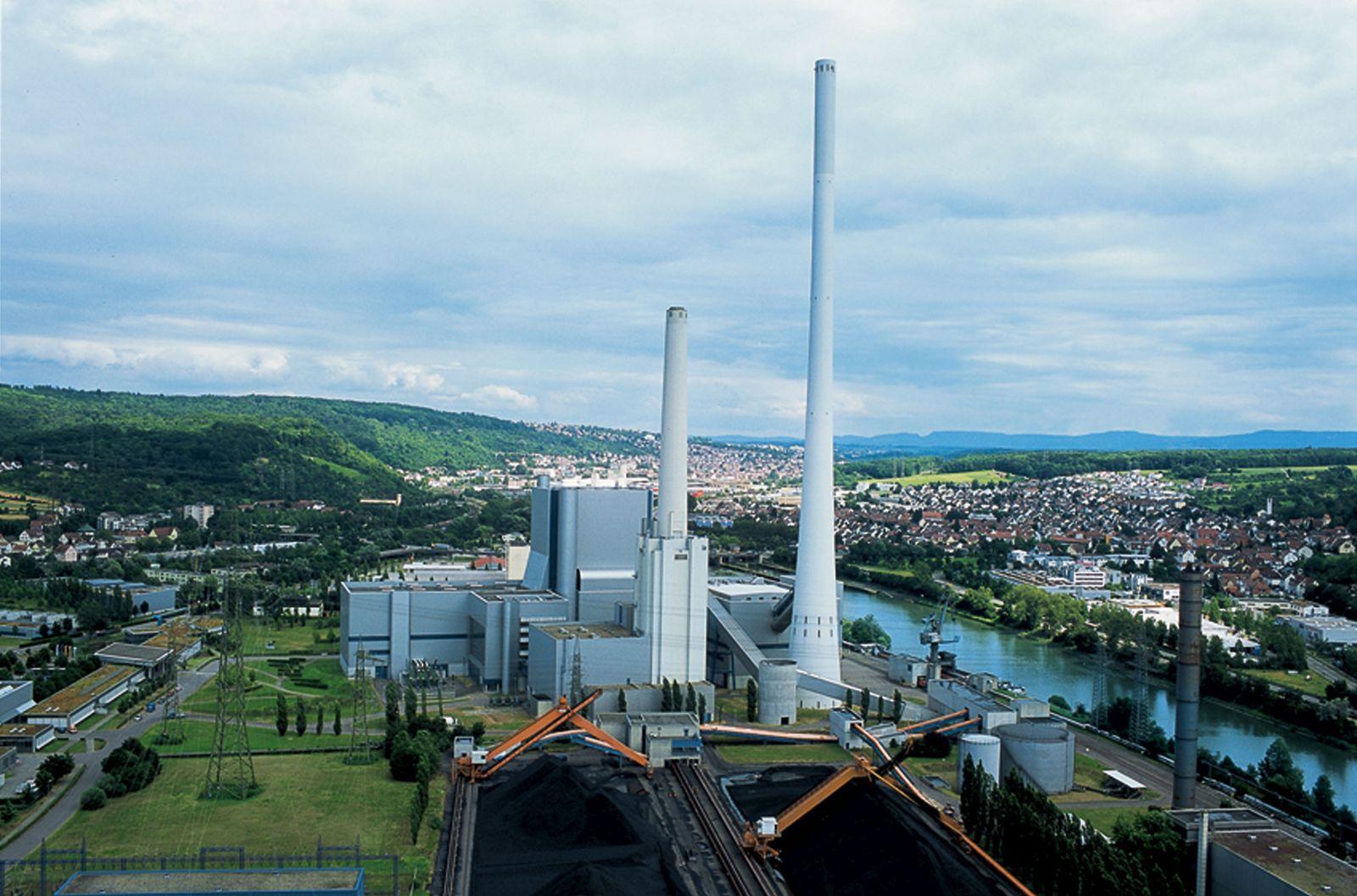 EnBW / Kraftwerk Altbach/Deizisau