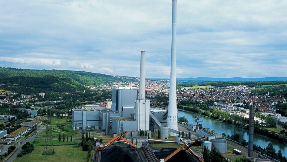 Kohlekraftwerk Altbach/Deizisau von EnBW