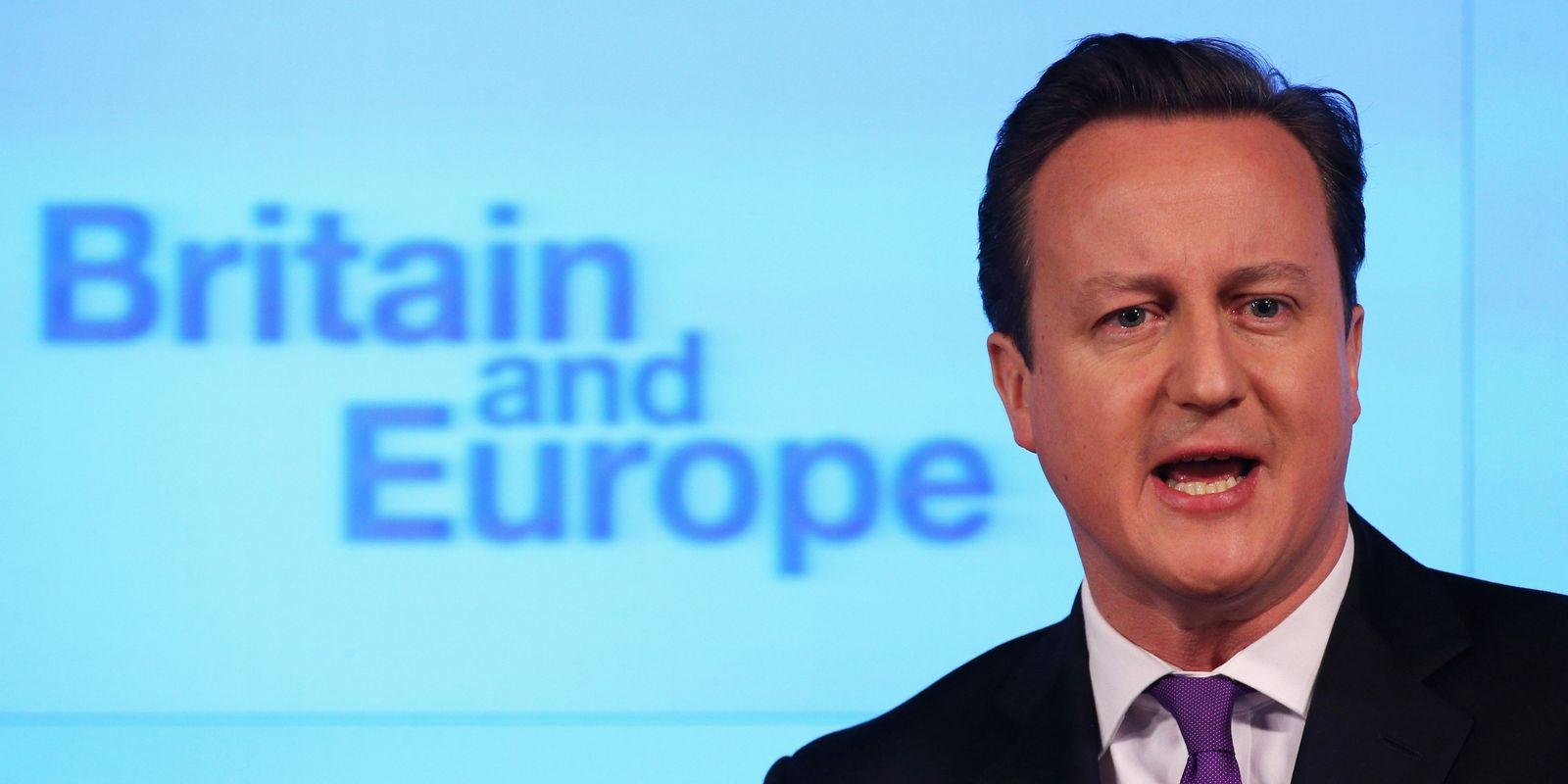 David Cameron / EU-Rede