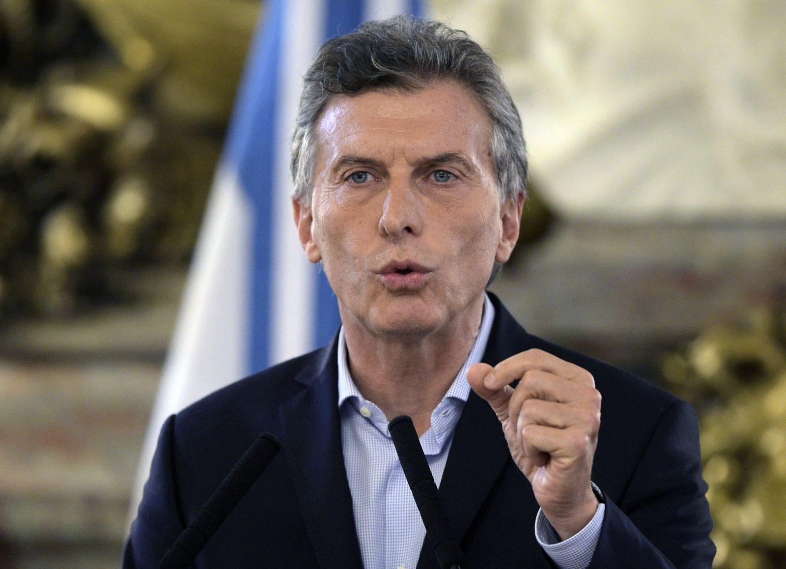Mauricio Macri / Argentinien