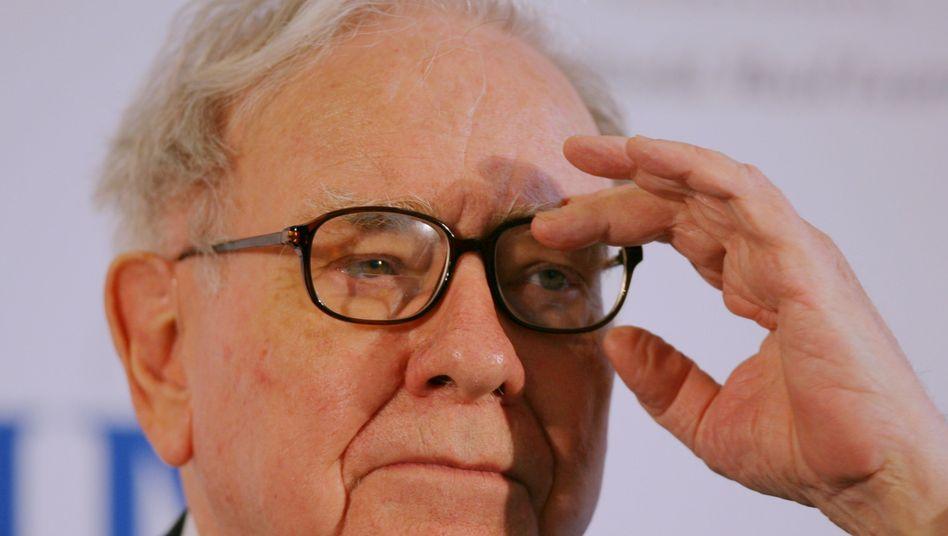 Der Blick für's gute Investment: Warren Buffett gilt als einer der gewieftesten Investoren weltweit