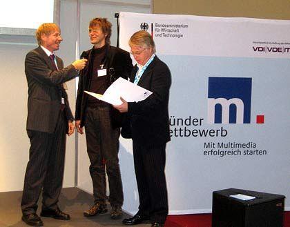 Gewinner des Gründerwettbewerbs: JumTV erhielt 5000 Euro Startkapital