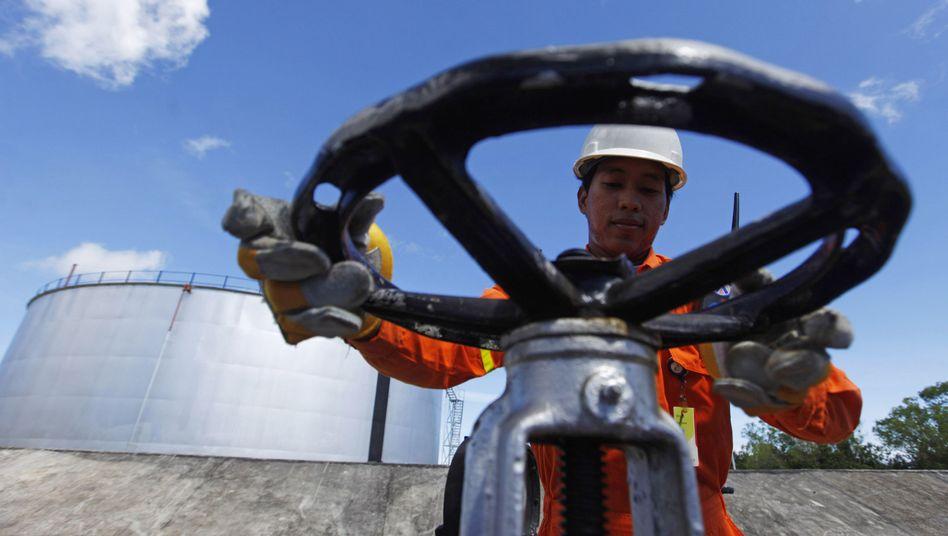 Ölförderung in Indonesien: Das Kartell sieht bei rund 100 Dollar je Barrel keinen Anlass, die Förderquote zu verändern