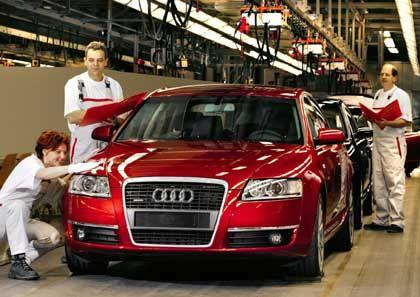 Audi-Produktion in Neckarsulm: Für Samstagsarbeit nur noch Freizeitausgleich möglich