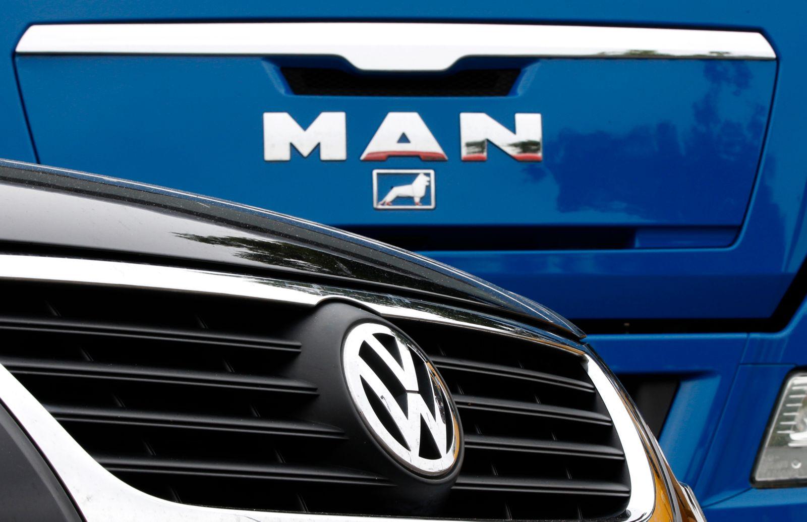 Man / VW / LKW / Truck / Logo