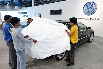 Jüngster Schritt der Expansion: Eröffnung des indischen VW-Werks im März