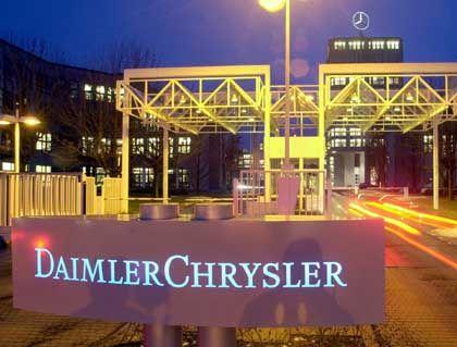 """DaimlerChrysler-Zentrale in Stuttgart-Möhringen: """"Hyundai werden wir uns demnächst anschauen"""""""