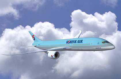 Boeing-Kunde: Dreamliner mit Logo von Korean Air