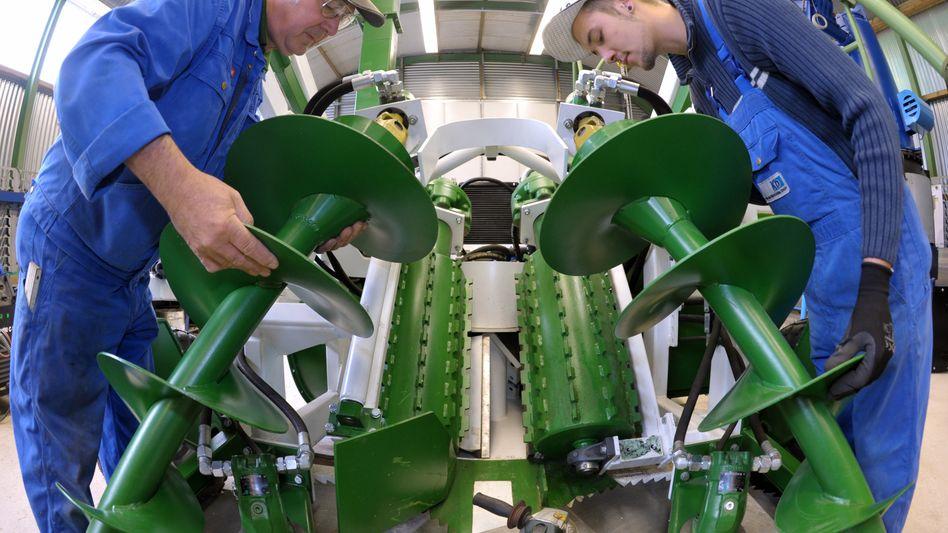 KD Stahl- und Maschinenbau in Breitenworbis: Weiterhin gute Auftragslage für deutsche Industrie