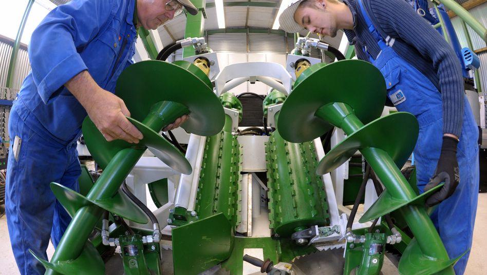 Auftragsminus: Maschinenbauer haben den Auftragsrückgang im vergangenen November besonders zu spüren bekommen