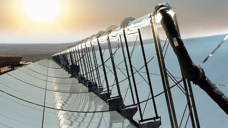 Sonnenschein satt: Wie hier in der Nähe von Las Vegas soll auch bald in Marokko Energie gewonnen werden