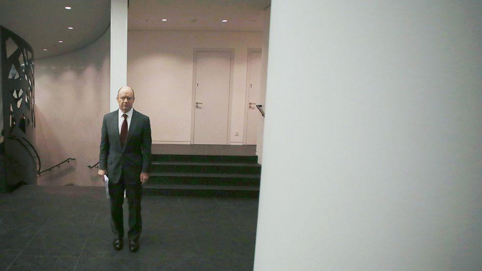 Aufräumer vom Dienst: Deutsche-Bank-Chef John Cryan.
