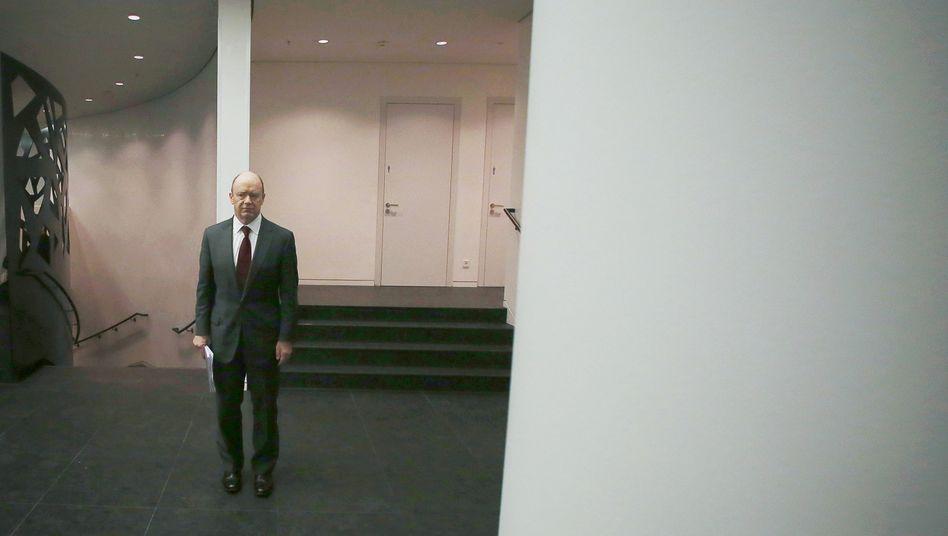 Ziemlich verwinkelt, seine Aufgabe: Deutsche-Bank-Chef John Cryan.