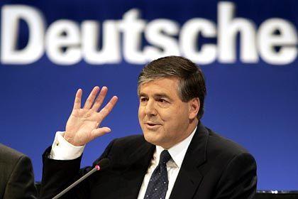 """""""Manager-Leistungen sind nicht unmittelbar nachvollziehbar"""": Deutsche-Bank-Chef Ackermann"""