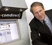Sinkt in der Gunst der Anleger: Comdirect-Chef Bernt Weber