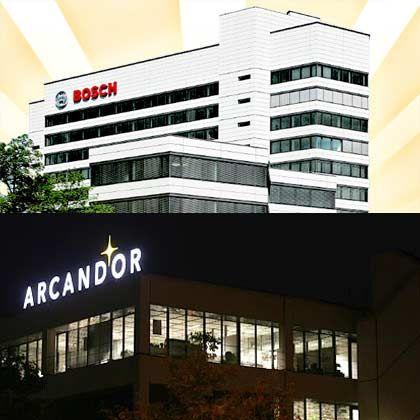 Top und Flop: Während über 90 Prozent der Befragten Bosch für einen fairen Arbeitgeber halten, wissen keine 20 Prozent etwas Positives über Arcandor zu berichten