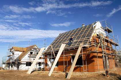 Höchste Investition im Leben: Für den Hausbau verschulden sich die meisten Bauherren