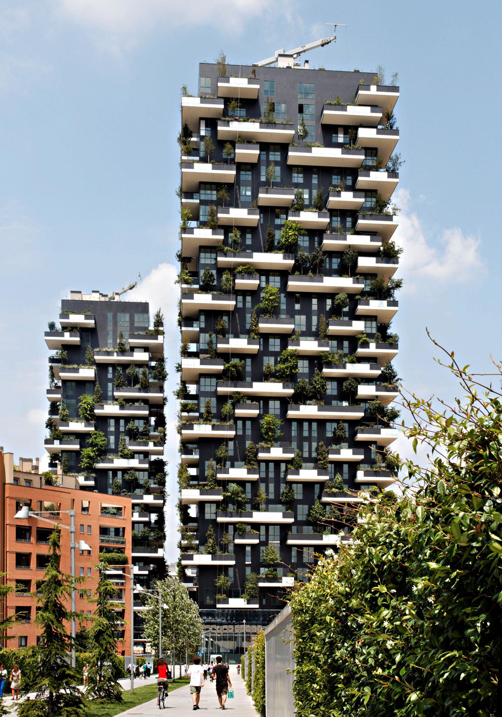 EINMALIGE VERWENDUNG Mailand - Bosco Verticale