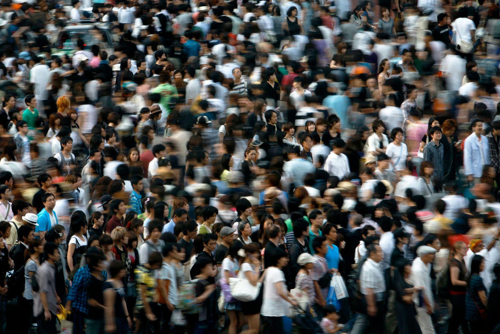Fußgänger / Menschenmenge / Tokyo