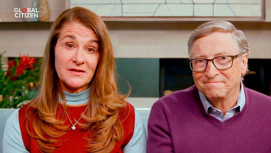 """Bill und Melinda Gates haben laut """"Forbes"""" 255 Millionen Dollar für den Kampf gegen das Coronavirus gespendet"""