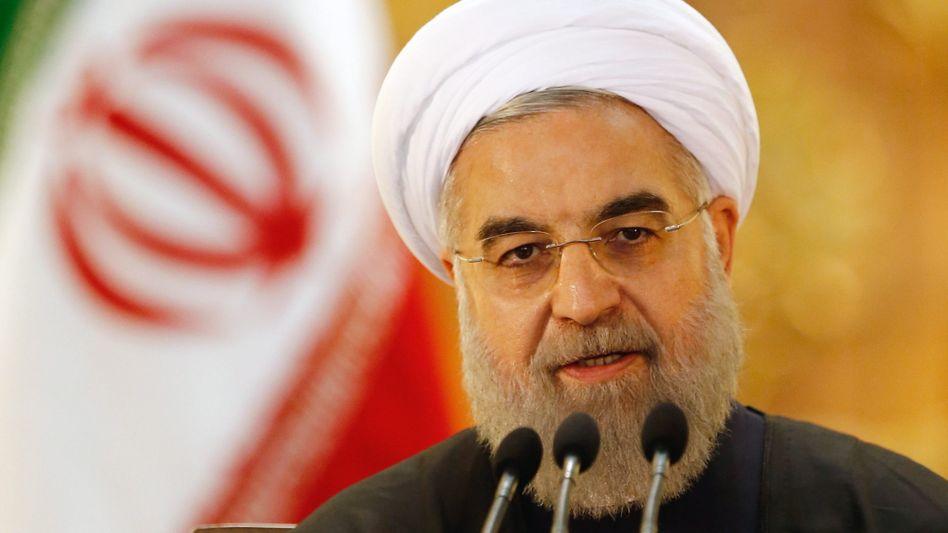Präsident Rohani