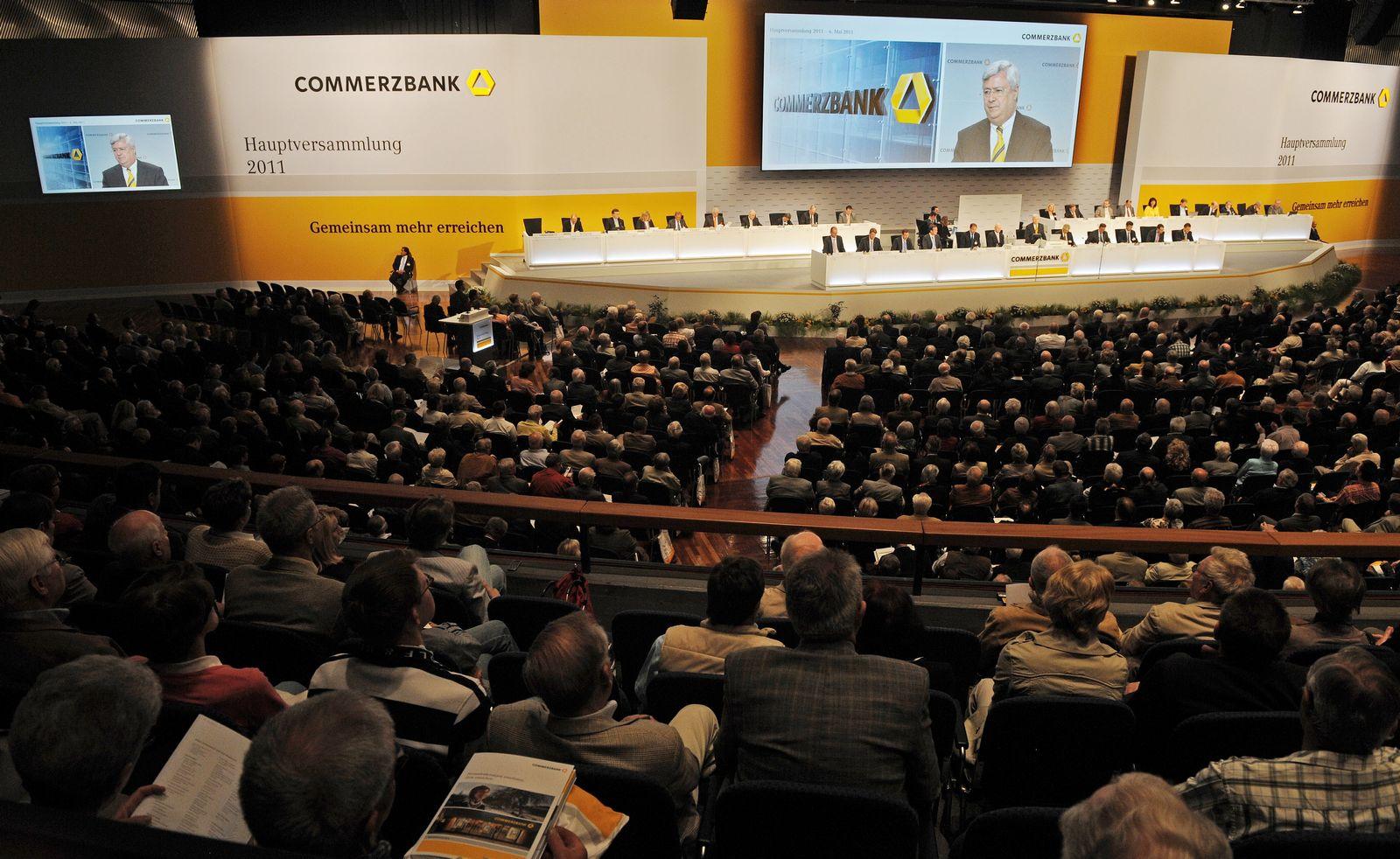 NICHT VERWENDEN Commerzbank Hauptversammlung