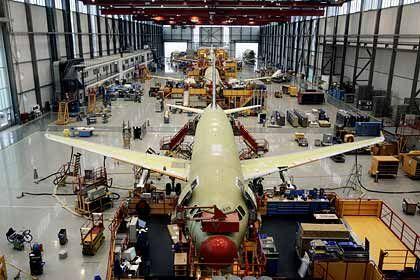 Viel zu tun: Airbus kommt kaum mit dem Abarbeiten der Aufträge nach