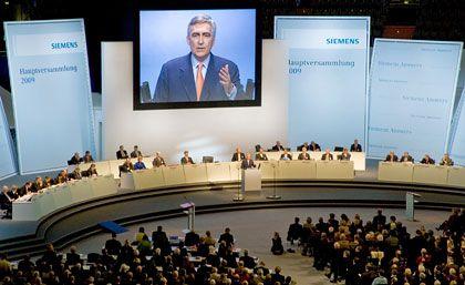Siemens-HV: Reichlich Stoff für Diskussionen
