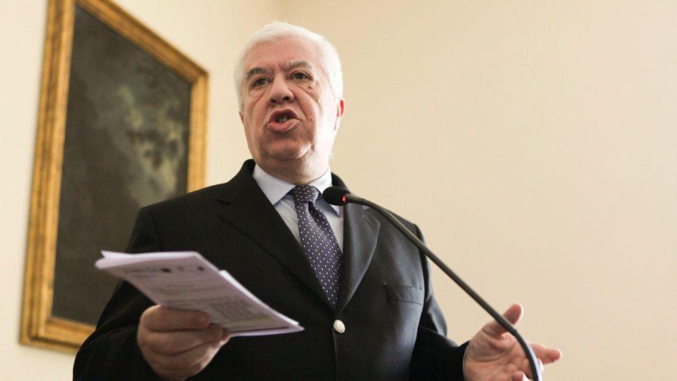 Portugals Finanzminister Fernando Teixeira dos Santos: Hilferuf per Online-Magazin