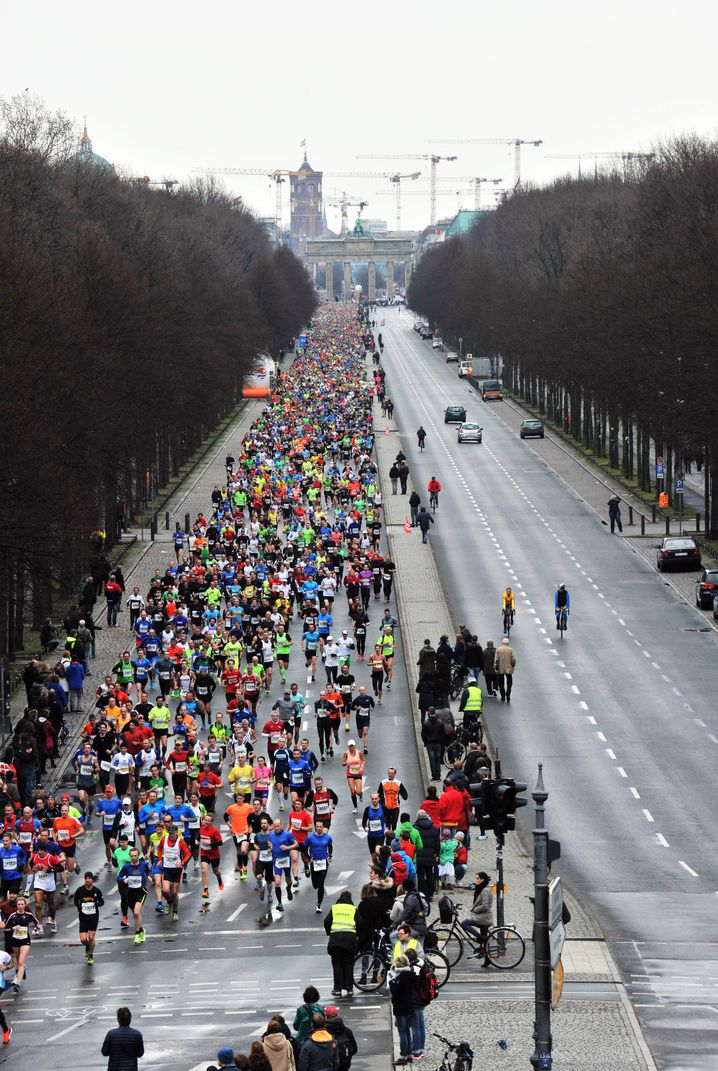 Mach mal halblang: Halbmarathon in Berlin