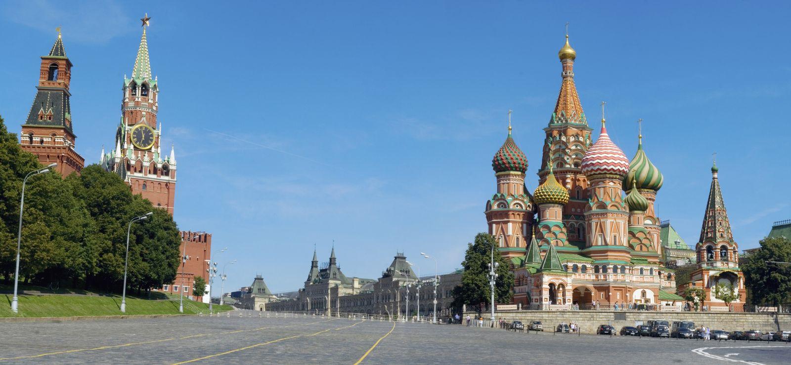 NICHT MEHR VERWENDEN! - Moskau/ Kreml