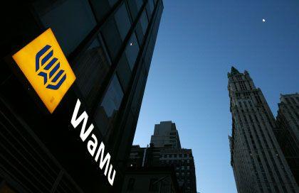 Washington-Mutual-Filiale in New York: Über Nacht den Besitzer gewechselt
