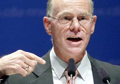 """""""Politische Flankierung"""": Bundestagspräsident Lammert sprach sich dafür aus, Airbus von staatlicher Seite zu unterstützen"""